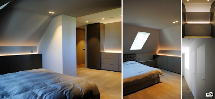 Project JI Moderne slaapkamers van ARD Architecten Modern