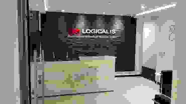 OFICINA ABIERTA: Edificios de oficinas de estilo  por IngeniARQ, Moderno