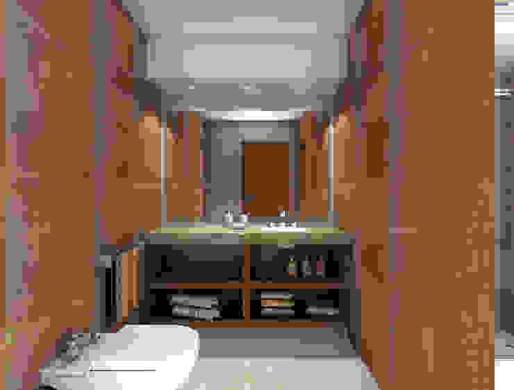 Baño Baños de estilo moderno de JIEarq Moderno Cerámico