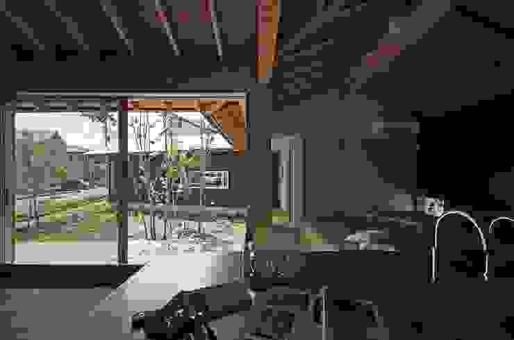 岡本和樹建築設計事務所 สวน