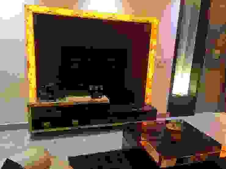 NIT-1 Faridabad Modern media room by homify Modern Plywood