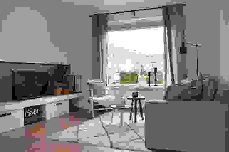 Ontwerp tv-programma 'Alles over wonen' Industriële woonkamers van Atelier09 Industrieel