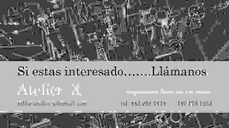 INVIERTA EN EL RAMO INMOBILIARIO, CONSTRUYENDO COMERCIOS Y VIVIENDAS de Atelier X
