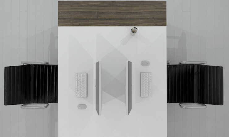 modern  by GN İÇ MİMARLIK OFİSİ, Modern Wood Wood effect