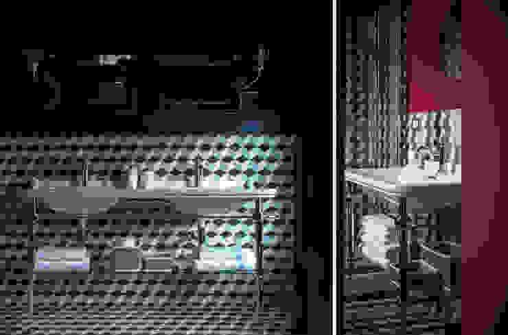 Piccola Guest Manison Modern Bathroom by NOS Design Modern