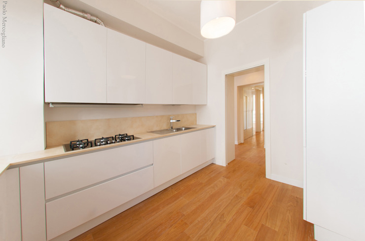 Light House Modern Kitchen by NOS Design Modern