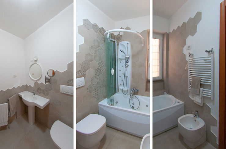 ห้องน้ำ โดย NOS Design,