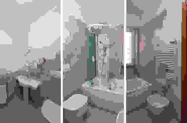 Site House Modern Bathroom by NOS Design Modern