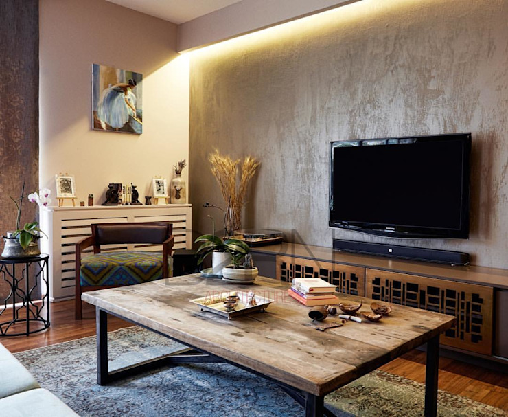 Modern Living Room by B2RN Architecture Modern