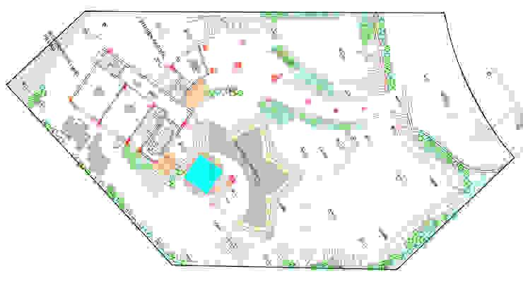 Landscape concept plan Modern Garden by Land Design landscape architects Modern