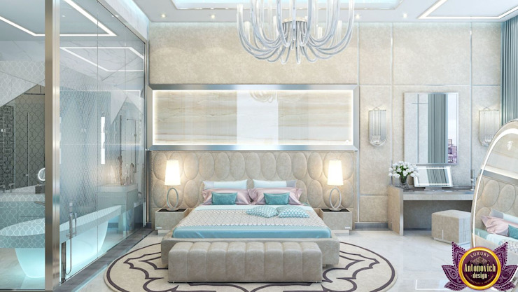 Bedroom by Luxury Antonovich Design