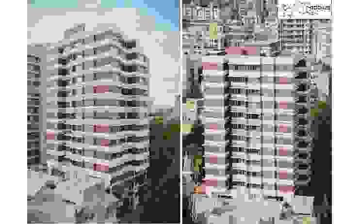 Satguru Sanskar Asian style houses by Mobius Architects Asian