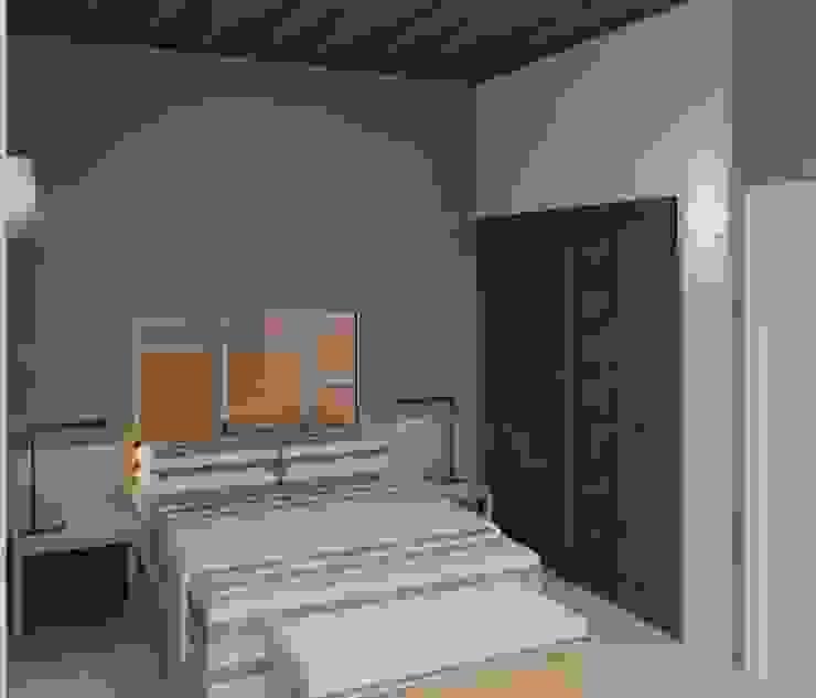 vista interna de la habitación 3 Dormitorios minimalistas de Diseño Store Minimalista