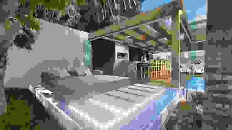 Adriane Cequinel Varella Arquitetura Spa Modern