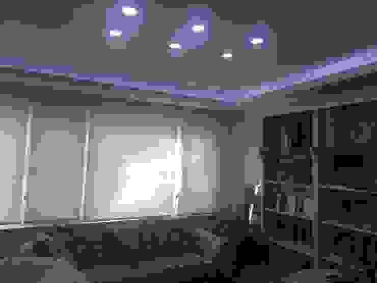 rwiçmimari غرفة المعيشةإضاءة