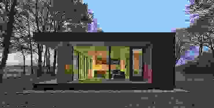 LOFT Hoteles de estilo minimalista de CHALETS Y LOFTS JK Minimalista Derivados de madera Transparente