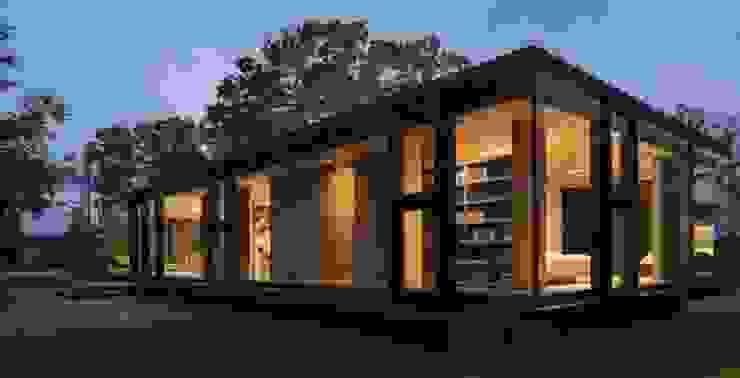 LOFT Hoteles de estilo minimalista de CHALETS Y LOFTS JK Minimalista Concreto reforzado