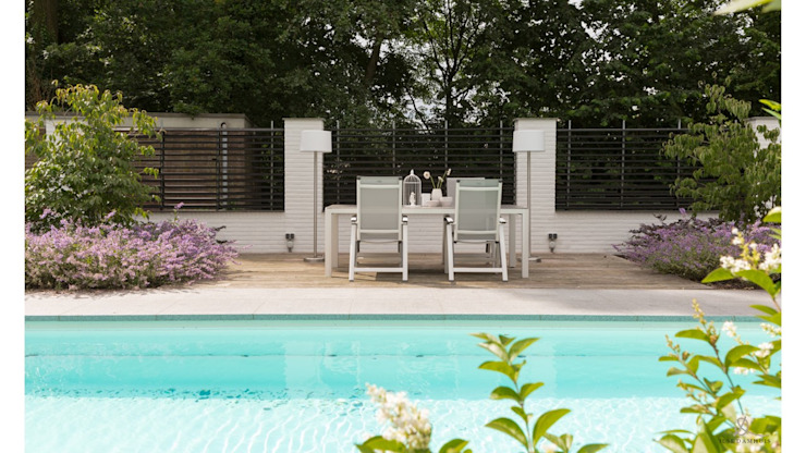 RESIDENTIAL VILLA Landelijke zwembaden van Ilse Damhuis Stijlvol Wonen Landelijk