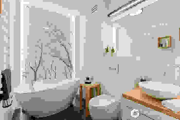 Banheiros modernos por Michał Młynarczyk Fotograf Wnętrz Moderno