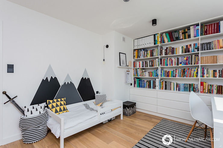 Детская комната в стиле модерн от Michał Młynarczyk Fotograf Wnętrz Модерн