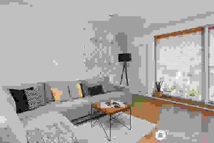 Salas de estar modernas por Michał Młynarczyk Fotograf Wnętrz Moderno