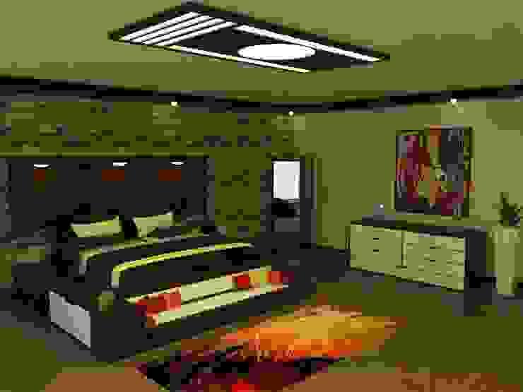 Remodelación de Habitación Cuartos de estilo moderno de AID Kailos C.A. Moderno Madera Acabado en madera