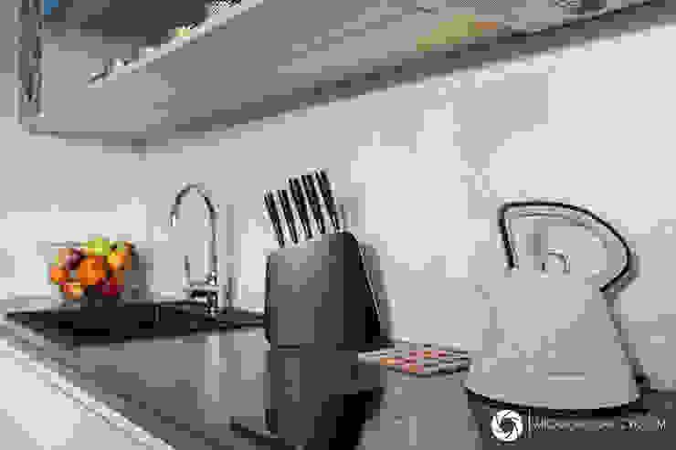 Modern kitchen by Michał Młynarczyk Fotograf Wnętrz Modern