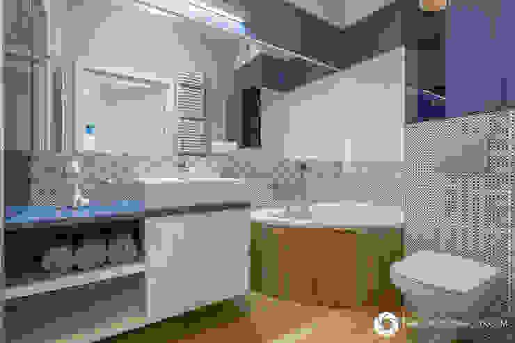 Modern bathroom by Michał Młynarczyk Fotograf Wnętrz Modern