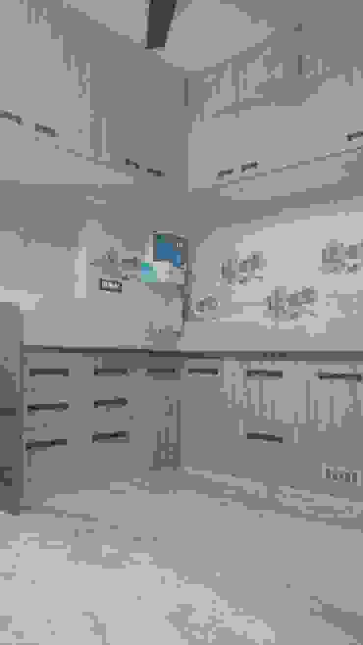 aashita modular kitchen CocinaAlmacenamiento y despensa