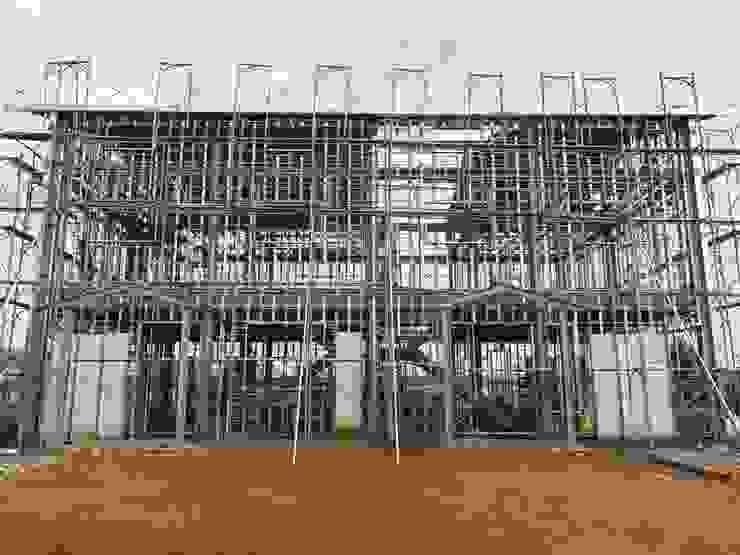 鋼構結構正面 根據 寶樹堂營造工程