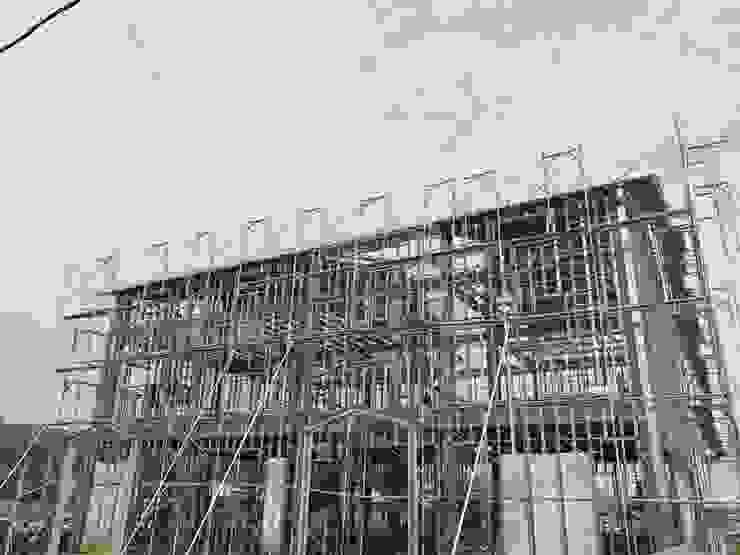 鋼構結構側面 根據 寶樹堂營造工程
