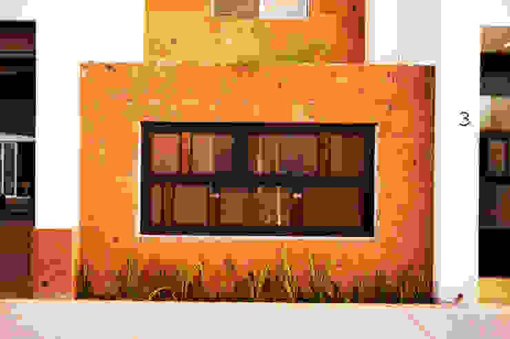 Ampliación Residencia BG Arstudio Casas estilo moderno: ideas, arquitectura e imágenes Piedra Marrón