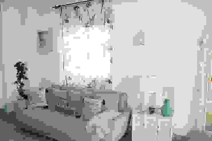 Sala de estar Salas de estar rústicas por alma portuguesa Rústico