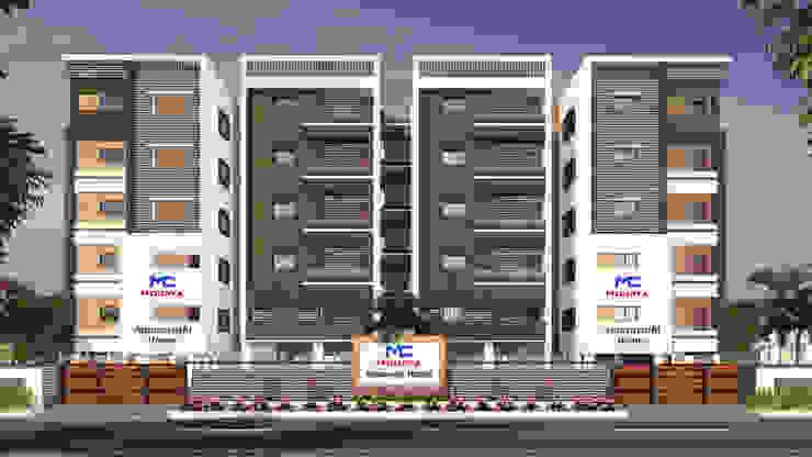 Mourya Amaravathi Homes Classic style houses by Mourya Constructions Classic
