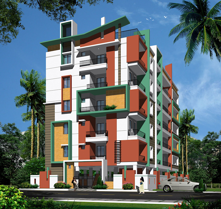Mourya Residency Classic style houses by Mourya Constructions Classic