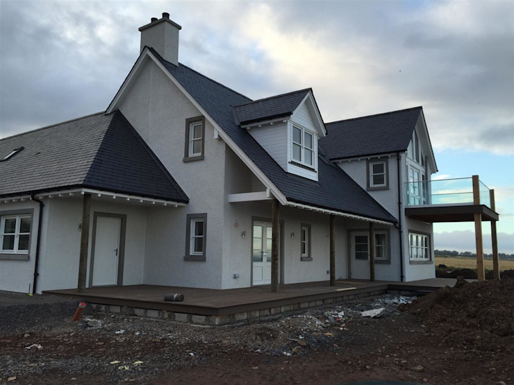 Plot 3, The Views, Gallaton, Aberdeenshire Maisons modernes par Roundhouse Architecture Ltd Moderne