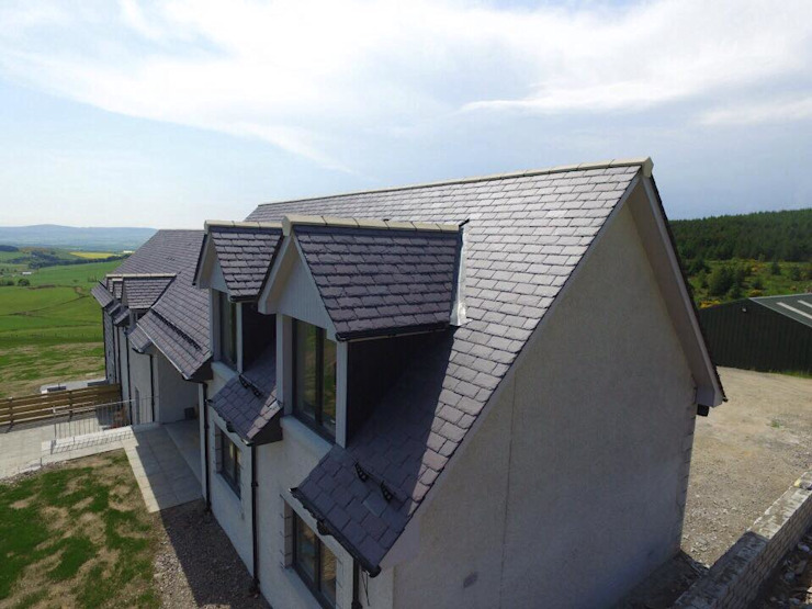 Coldwells, Alford, Aberdeenshire Roundhouse Architecture Ltd Modern houses