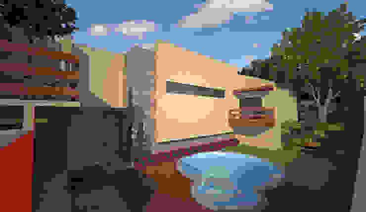 Moderne Pools von Mais Arquitetura 34 Modern