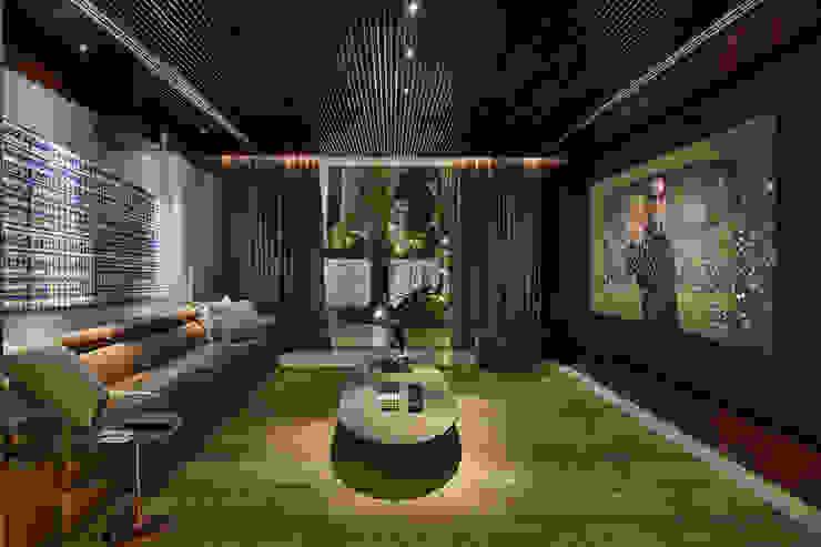 Lage Caporali Arquitetas Associadas Sala multimediaAccesorios y decoración