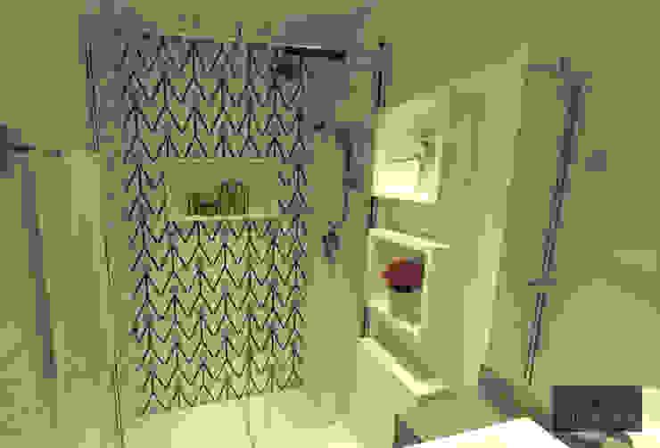 ห้องน้ำ โดย Hizzey Arquitetura e Interiores,