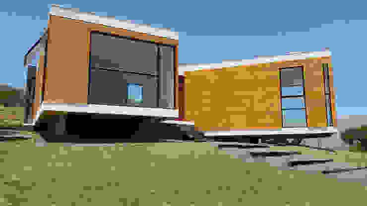 Casas de estilo mediterráneo de homify Mediterráneo Madera Acabado en madera