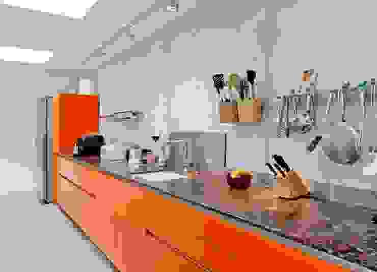 Cuisine moderne par RÄUME + BAUTEN Moderne