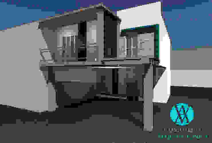 Modern houses by Vanguardia Arquitectónica Modern Stone