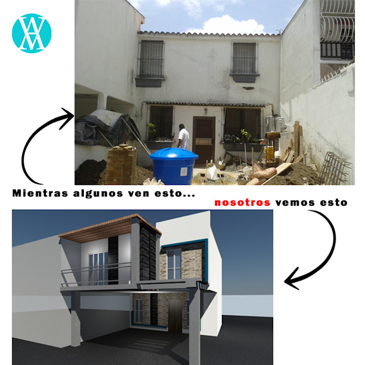 Modern houses by Vanguardia Arquitectónica Modern