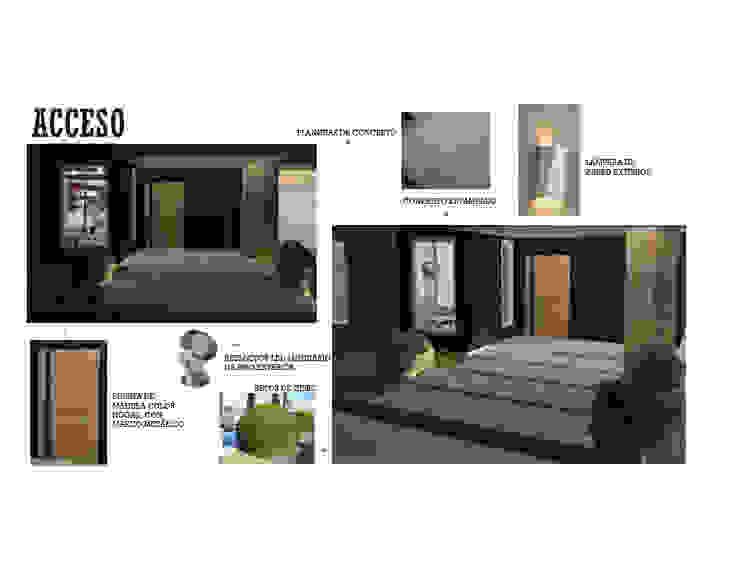 INTERIORISMO DE UNA VIVIENDA UNIFAMILIAR MAS ARQUITECTURA1 - Arq. Marynes Salas Anexos de estilo moderno