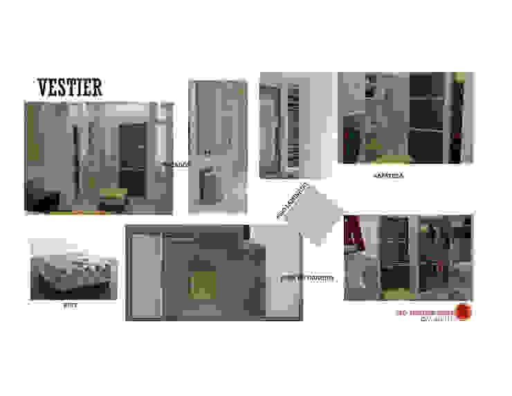 INTERIORISMO DE UNA VIVIENDA UNIFAMILIAR MAS ARQUITECTURA1 - Arq. Marynes Salas Closets de estilo moderno