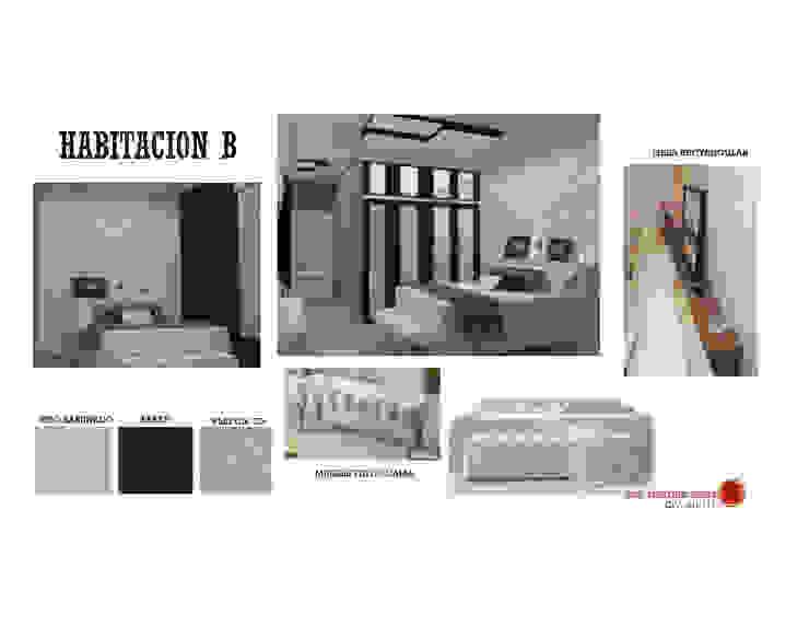 INTERIORISMO DE UNA VIVIENDA UNIFAMILIAR MAS ARQUITECTURA1 - Arq. Marynes Salas Cuartos de estilo moderno