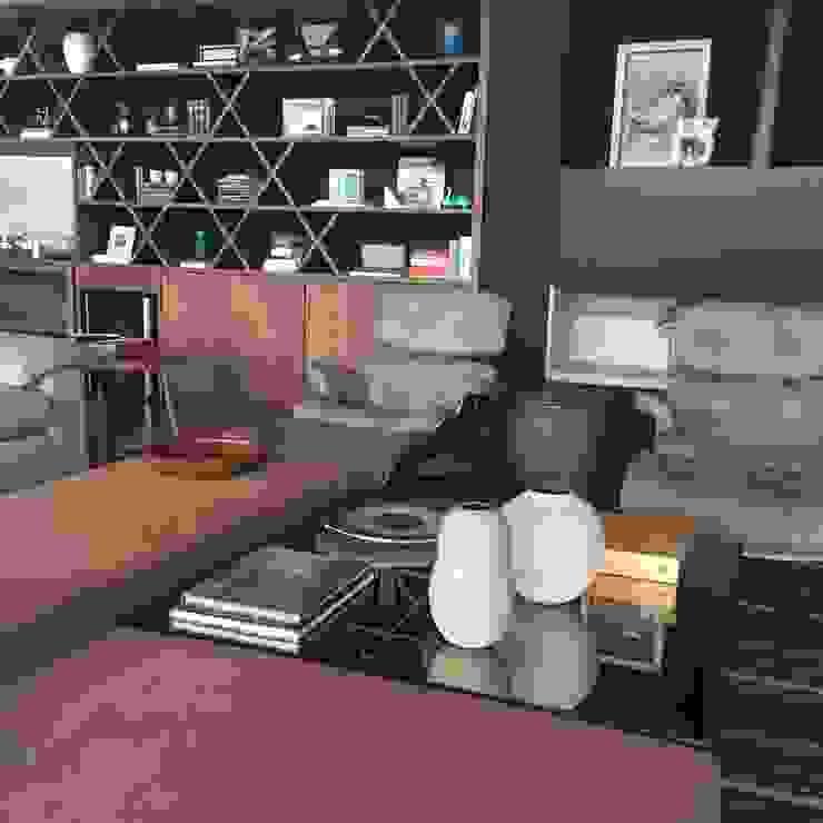 luciana zeitel & marcella libeskind arquitetura e interiores Salones de estilo moderno