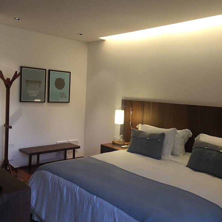 luciana zeitel & marcella libeskind arquitetura e interiores Dormitorios de estilo moderno