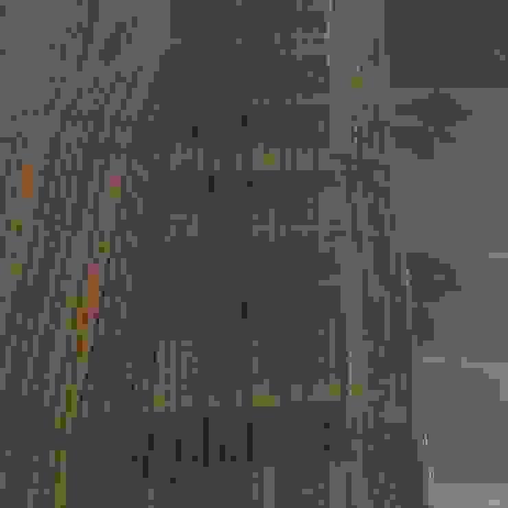 Detalle de madera de xma studio Moderno Madera Acabado en madera